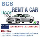 Bismillah Rent a Car Service Karachi