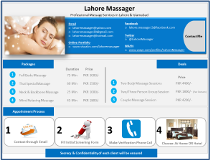 Lahore Massager Islamabad